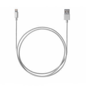 Targus Accessories Aluminium Series Lightning to USB Cable (Silver)