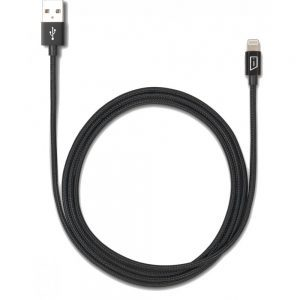 Targus Accessories Aluminium Series Lightning to USB Cable (Black)