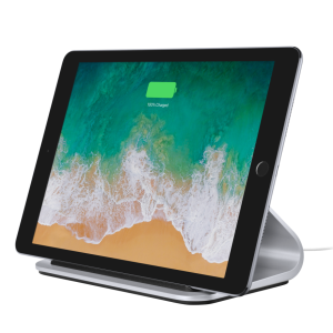 Logitech BASE Charging stand with Smart Connector technology For iPad Pro 12 inch and iPad Pro 9.7 inch-SILVE