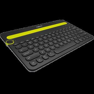 Logitech Bluetooth® Multi-Device Keyboard K480 - BLACK - US - BT - AP
