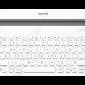 Logitech Bluetooth® Multi-Device Keyboard K480 - WHITE - US - BT - AP