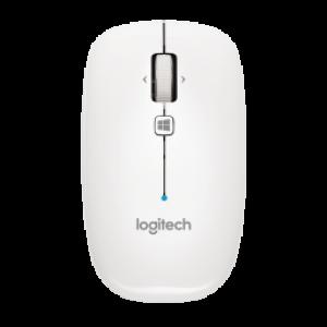 Logitech Bluetooth Mouse M557 - Pearl White - TWKOR