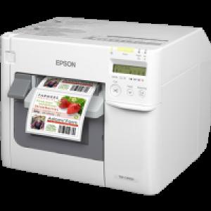 Epson ColorWorks color label printers TM-C3520彩色噴墨標籤打印機