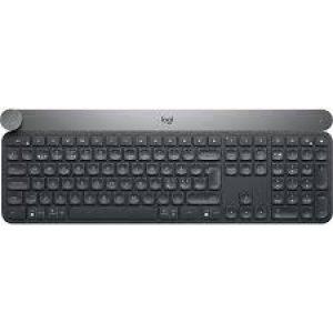 Logitech Craft Advanced keyboard with creative input dial - US - 2.4GHZ/BT - AP