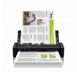 Epson Scanner Epson WorkForce DS-360W 無線便攜式文件掃描器