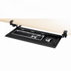 Fellowes 夾檯式可調較鍵盤托 Desk Ready Keyboard Drawer
