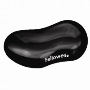 Fellowes 冰黑水晶啫喱前臂軟墊Crystal Blue Flex Rest (black)