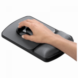 Fellowes Microban® 防菌啫喱手墊連滑鼠墊 Gel Wrist Rest with mouse pad