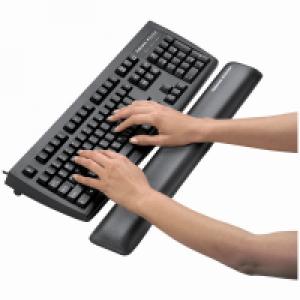 Fellowes Microban® 防菌長形啫喱手腕軟墊 Gel Wrist Rest