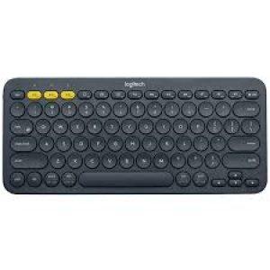 Logitech K380 Multi-Device Bluetooth® Keyboard - DARK GREY - CHT - BT - TWKOR