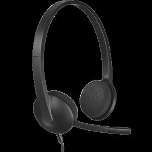 Logitech Logitech® USB Headset H340 - Black - TWKOR