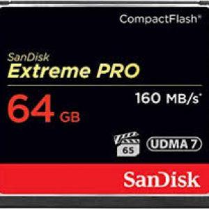 SANDISK EXTREME PRO CF 64GB 160MB UDMA 7 + VPG65