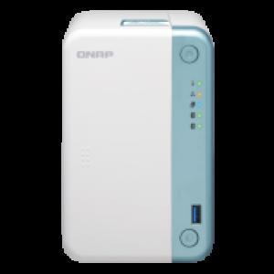 QNAP HDD 2-Bay NAS | Intel Celeron J4005 2.0GHz Dual Core (burst up to 2.7GHz)