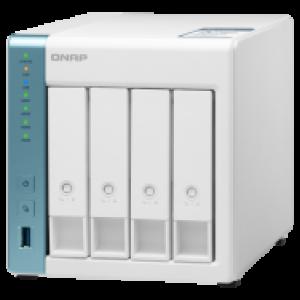 QNAP HDD 4-Bay NAS | Annapurna Labs Alpine AL-314 Cortex-A15 1.7 GHz Quad Core