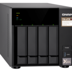 QNAP HDD 4-Bay NAS | AMD RX-421ND 2.1 GHz Quad Core (Turbo Core up to 3.4 GHz)
