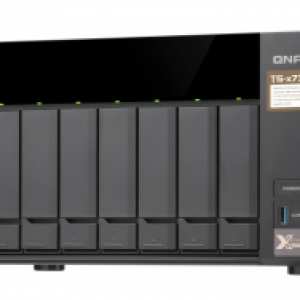 QNAP HDD 8-Bay NAS | AMD RX-421ND 2.1 GHz Quad Core (Turbo Core up to 3.4 GHz)